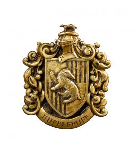 Hufflepuff House Wall Coat of Arms