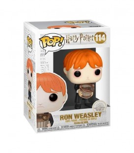 Figurine POP! N° 114 Ron Weasley Crache Limace
