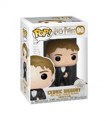 Figurine POP! N°90 Cédric Diggory,  Harry Potter, Boutique Harry Potter, The Wizard's Shop