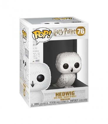Figurine POP! N°76 Hedwige,  Harry Potter, Boutique Harry Potter, The Wizard's Shop