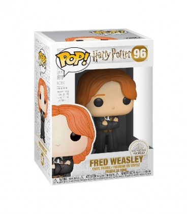 Figurine POP! N°96 Fred Weasley,  Harry Potter, Boutique Harry Potter, The Wizard's Shop