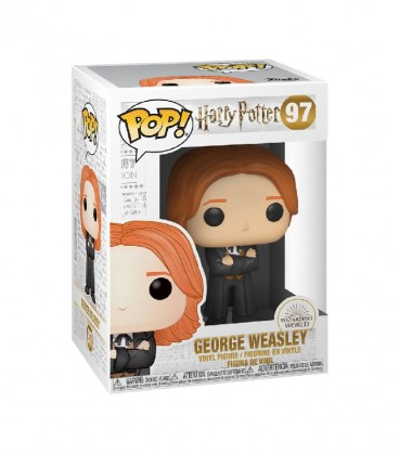 Figurine POP! N°97 Georges Weasley,  Harry Potter, Boutique Harry Potter, The Wizard's Shop
