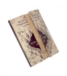 Carnet Magnétique Carte du Maraudeur Harry Potter