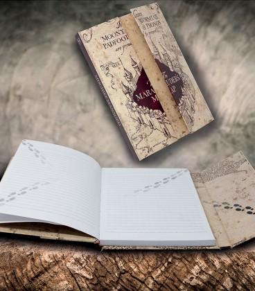 Carnet Magnétique Carte du Maraudeur Harry Potter,  Harry Potter, Boutique Harry Potter, The Wizard's Shop