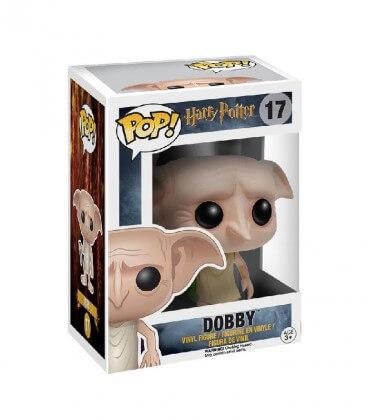 Figurine POP! N°17 Dobby avec sa chaussette,  Harry Potter, Boutique Harry Potter, The Wizard's Shop