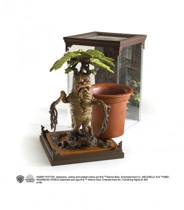 Créature Magique N°17 - Figurine Mandragore,  Harry Potter, Boutique Harry Potter, The Wizard's Shop