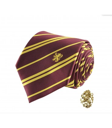 Hufflepuff Deluxe Tie and Pins