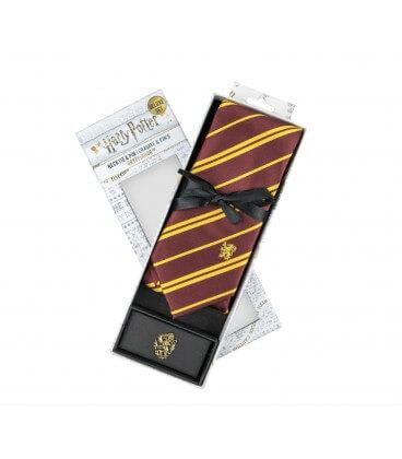 Cravate Deluxe et Pin's Gryffondor,  Harry Potter, Boutique Harry Potter, The Wizard's Shop