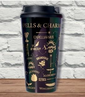 Travel Mug Isotherme Sortilèges & Incantations Harry Potter,  Harry Potter, Boutique Harry Potter, The Wizard's Shop