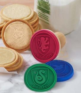 Lot de 5 tampons silicone Poudlard pour cookies