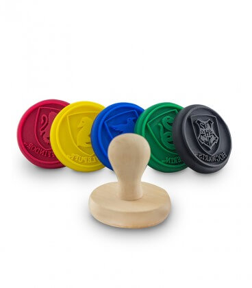 Set of 5 silicone Hogwarts pads for cookies