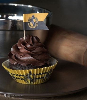Set of 96 Hogwarts' houses Cupcakes decorations