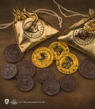 Chocolate Gringotts Bank Coin Mold - Harry Potter
