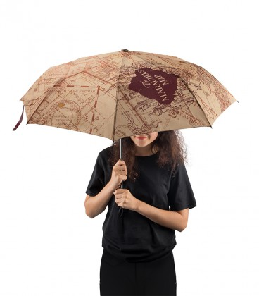 Parapluie Carte du Maraudeur,  Harry Potter, Boutique Harry Potter, The Wizard's Shop