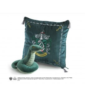 Coussin Peluche Serpentard,  Harry Potter, Boutique Harry Potter, The Wizard's Shop