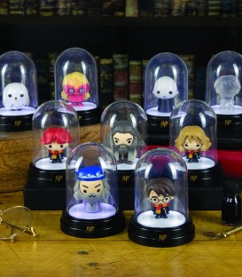 Mini Lampe sous cloche Harry Potter Voldemort