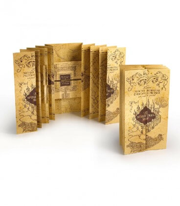 Réplique Carte du Maraudeur Harry Potter,  Harry Potter, Boutique Harry Potter, The Wizard's Shop