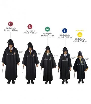 Kids Hufflepuff Wizard Robe