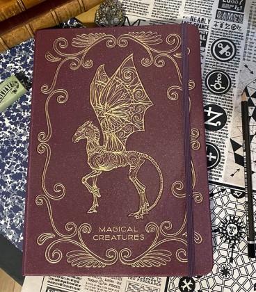Sketchbook Animaux Fantastiques,  Harry Potter, Boutique Harry Potter, The Wizard's Shop