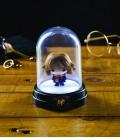 Mini Lampe sous cloche Harry Hermione