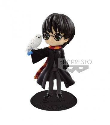 Figurine Q Posket - Harry Potter et Hedwige,  Harry Potter, Boutique Harry Potter, The Wizard's Shop