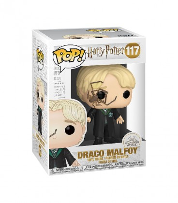 Figurine POP! Draco Malfoy N°117,  Harry Potter, Boutique Harry Potter, The Wizard's Shop