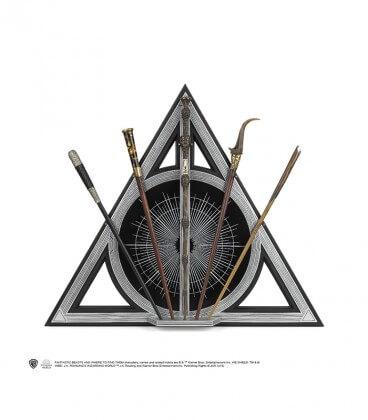 """Présentoir 5 Baguettes Reliques de la mort """"Les crimes de Grindelwald"""" - Animaux Fantastiques,  Harry Potter, Boutique Harry ..."""