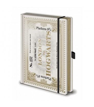 Carnet A5 Premium Harry Potter Ticket Hogwarts Express,  Harry Potter, Boutique Harry Potter, The Wizard's Shop
