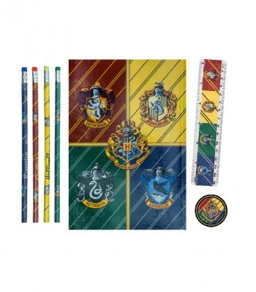 Hogwarts Houses Stationery Set