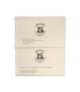 Set de 2 torchons Poudlard - Lettre d'Acceptation