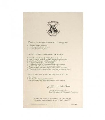 Set of 2 Hogwarts tea towels - Acceptance Letter