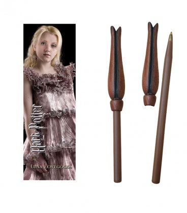 Stylo Baguette & Marque-page Luna Lovegood,  Harry Potter, Boutique Harry Potter, The Wizard's Shop
