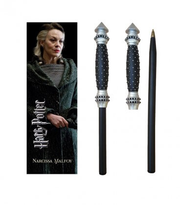 Stylo Baguette & Marque-page Narcissa Malfoy,  Harry Potter, Boutique Harry Potter, The Wizard's Shop