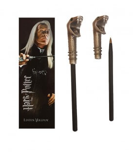 Stylo Baguette & Marque page Lucius Malfoy