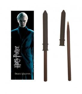 Drago Malfoy Wand Pen & Bookmark