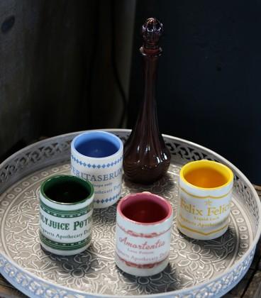 Set de 4 Tasses à café Expresso de Potions Harry Potter,  Harry Potter, Boutique Harry Potter, The Wizard's Shop