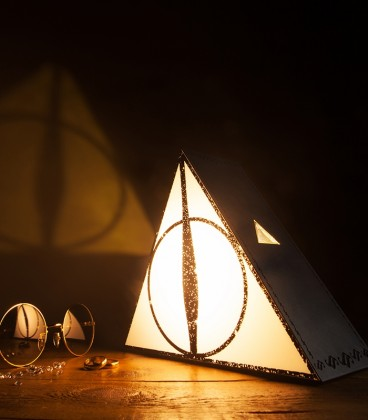 Lampe Harry Potter Deathly Hallows,  Harry Potter, Boutique Harry Potter, The Wizard's Shop
