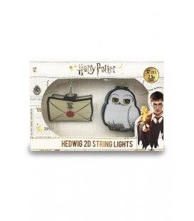 Guirlande lumières 2D Hedwig Lettre Poudlard