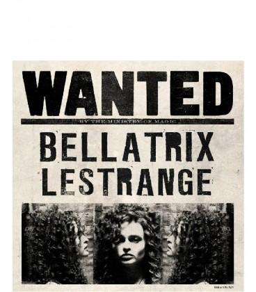 Carte de voeux lenticulaire Bellatrix Lestrange,  Harry Potter, Boutique Harry Potter, The Wizard's Shop