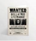 Carte de voeux lenticulaire Bellatrix Lestrange