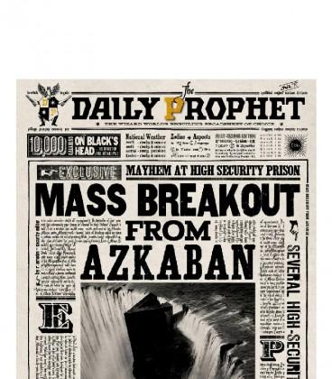Carte de voeux lenticulaire Mass breakout from Azkaban,  Harry Potter, Boutique Harry Potter, The Wizard's Shop