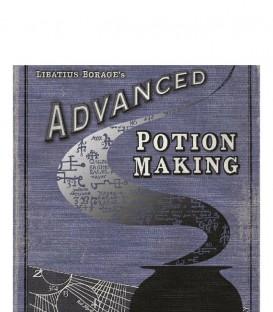 Carte de voeux Livre Fabrication de Potions Avancé Edition II