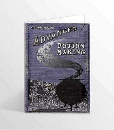 Advanced Edition II Potions Making Book Greeting Card