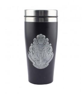 Hogwarts Black and Silver Travel Mug
