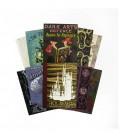 Lot de 20 cartes postales Série Couverture de livres Poudlard