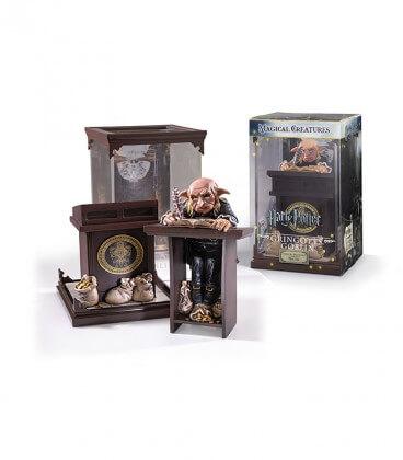 Figurine Créature Magique : Gobelin de Gringotts,  Harry Potter, Boutique Harry Potter, The Wizard's Shop