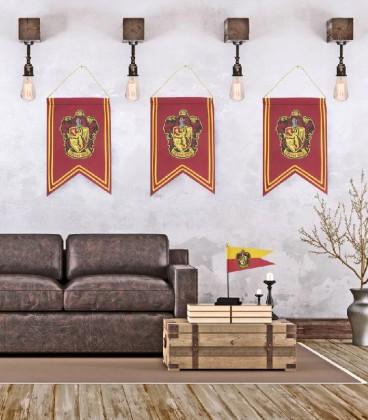 Bannière et Drapeau Gryffondor,  Harry Potter, Boutique Harry Potter, The Wizard's Shop