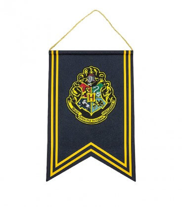 Bannière et Drapeau Poudlard,  Harry Potter, Boutique Harry Potter, The Wizard's Shop