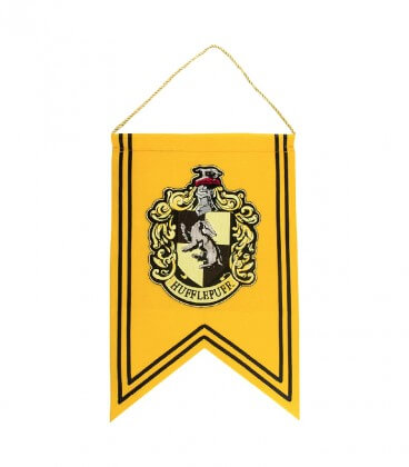 Hufflepuff flag and banner