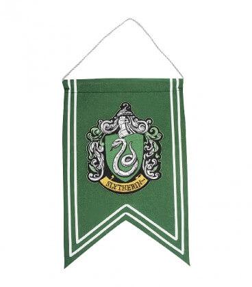 Bannière et Drapeau Serpentard,  Harry Potter, Boutique Harry Potter, The Wizard's Shop